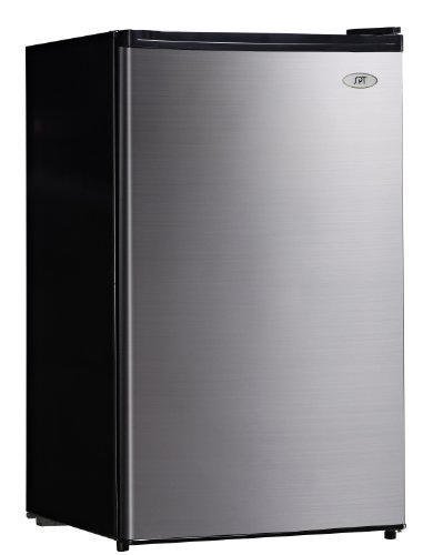 SPT RF-444SS 4.4 cu.ft. Compact Refrigerator in Stainless Steel - Energy Star