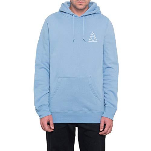 HUF Herren Hoodie Essentials TT P/O, Größe:M, Farben:Forever Blue