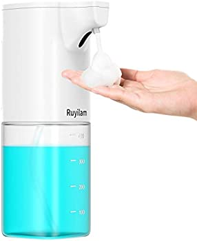Ruyilam Touchless Foaming Soap Dispenser With Infrared Sensor 14 Oz