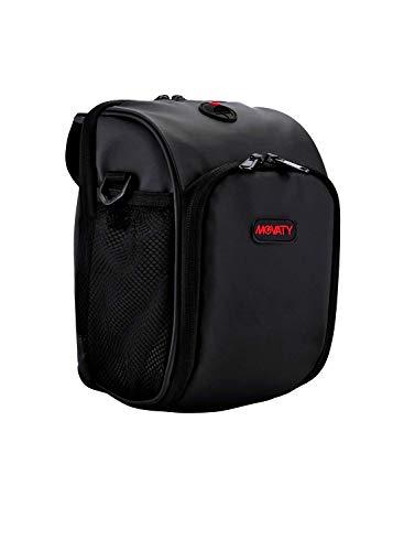 Movaty Fahrrad Lenkertasche, 3L Wasserfeste Tasche für den Fahrradlenker, Satteltasche für Fahrräder Mountainbikes Oder Roller, mit Regenschutz