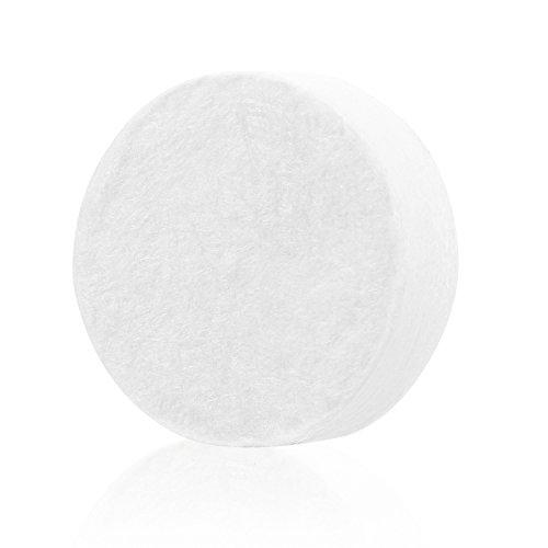 Incutex 100x Tabletten Reinigungstücher Trockentücher Tabletten, Handtuchpillen, Handtuch gepresst, Handtuchpillen Erfrischungstuch 20 x 25 cm Mini-Handtuch 100% biologisch abbaubar