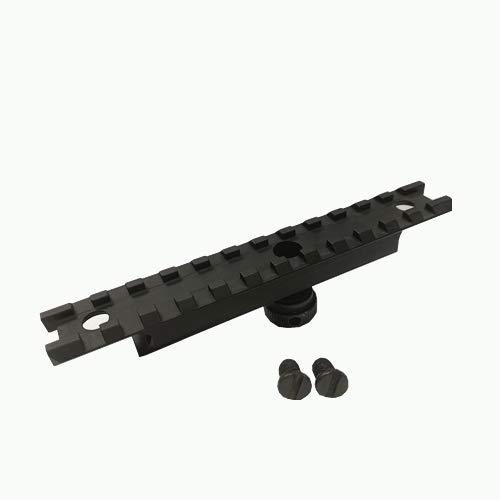 DB TAC 12 Slots Carry Handle Flat Top Rail - Picatinny/Weaver Rail. 20mm Scope Base