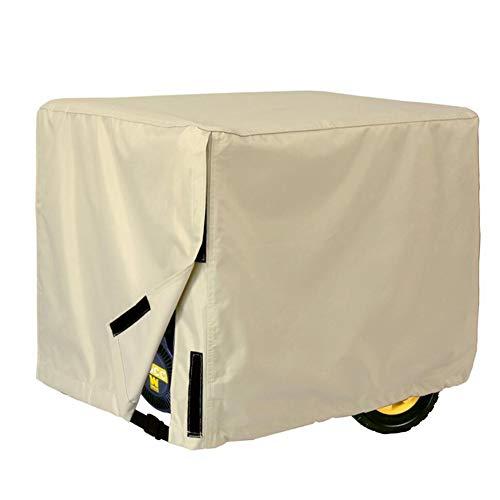 LRZLZY Muebles Tapa del generador Lona Protectora Impermeable a Prueba de Polvo Espesa 2 Colores, 3 tamaños Respetuoso del Medio Ambiente (Color : Beige, Size : 26'(L) X20(H) X20(W))