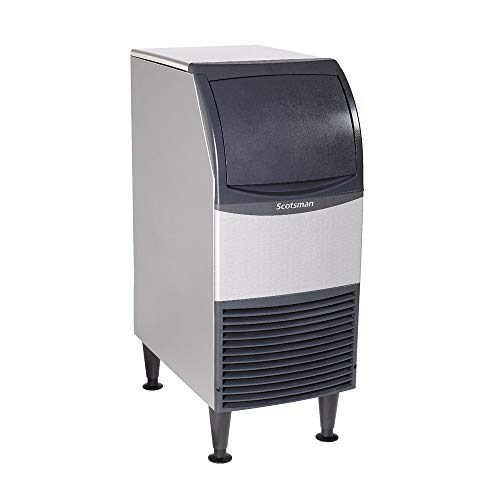 Scotsman UN1215A-1 15-Inch Air-Cooled Nugget Undercounter Ice Maker Machine with 36 lb. Storage Capacity, 119 lbs/Day, 115v, NSF