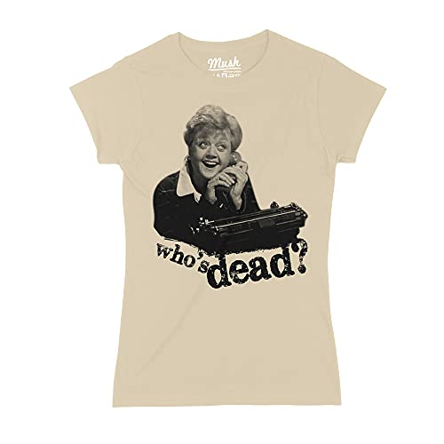MUSH T-Shirt Signora Fletcher Telefono. Who IS Dead - Film by Dress Your Style - Donna-L-Sand