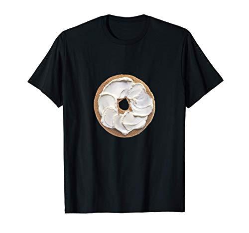 Bagel y Queso Crema Camiseta