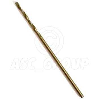 UK Drills 6.7mm HSS Jobber Wood 10 Drill Bits High Speed Steel 1mm to 9.5mm