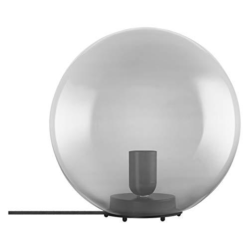 LEDVANCE Vintage Edition 1906, Tischleuchte mit E27 Sockel, Rauchgraues Glas, Ohne Leuchtmittel, Bubble Table