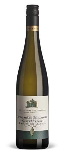 Württemberger Wein Rotenberger Schloßberg Riesling mit Traminer QW trocken