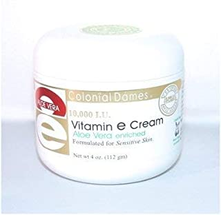 aloe vera cream with vitamin e