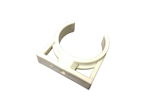 Wall Mounting Clip Bracket Suitable for Inline Fridge Water Filters Compatible LG Bosch Samsung Daewoo GE and all others that are 2' wide