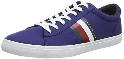 Tommy Hilfiger Herren Essential Stripes Detail Sneaker, Blau (Blue Ink C7h), 43 EU