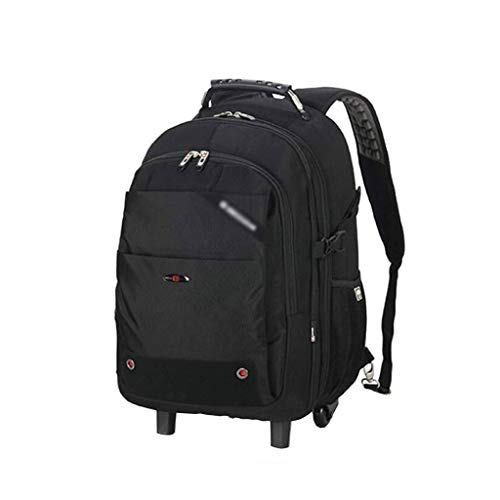GZQDX Trolley-rugzak, waterdicht, reis-rugzak, carry-on laptop backpack trolley koffer compact business tas student computer tas