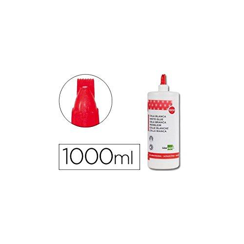 Liderpapel - Pegamento Cola Blanca Lavable 1000 Ml