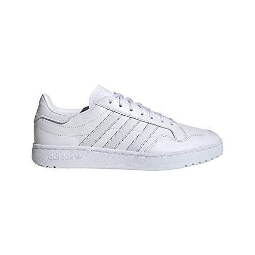 adidas Team Court W, Zapatillas de Gimnasio para Mujer, FTWR White Dash Grey Dash Grey, 41 1/3 EU