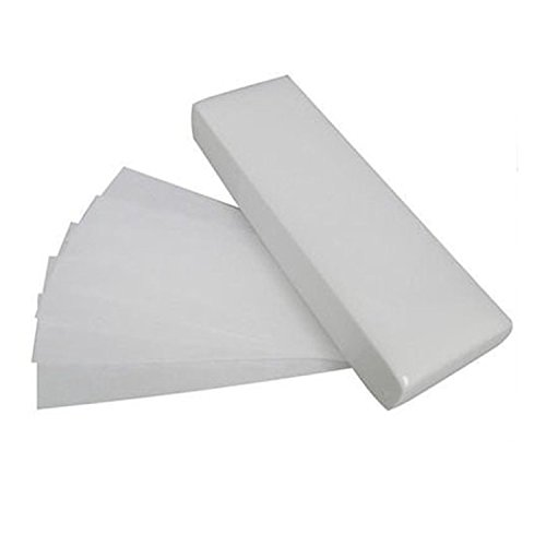 Plain - Professional Papier, Épilation à La Cire Cire Bandes Jambe Corps Bikini Face Non Tissé Qualité