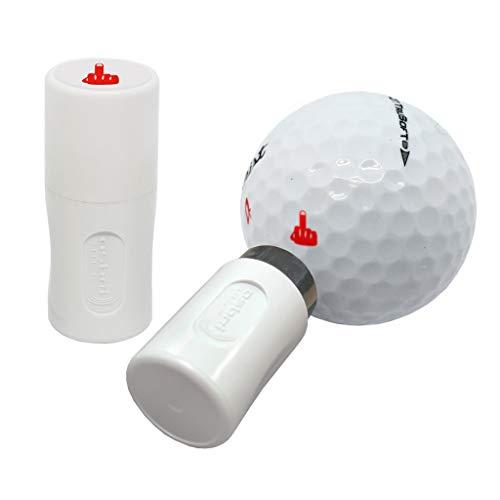 Asbri Golf Doigt Boule Tampon - Rouge