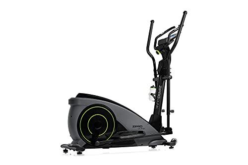 ZIPRO, Crosstrainer Magnetico iConsole Dunk Fino a 150 kg, Massa centrifuga di 12 kg Unisex-Adulto, Nero, Standard
