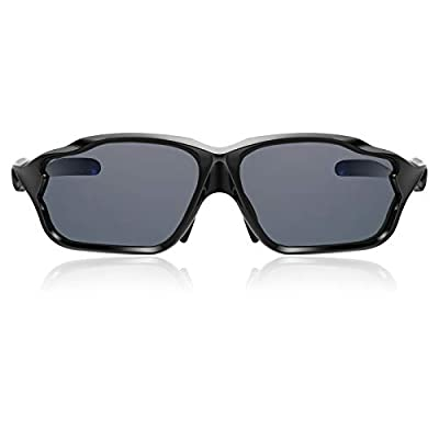 Hulislem Aero2 Sport Polarized Sunglasses (Black-Smoke)