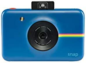 Zink Polaroid Snap Instant Digital Camera (Navy Blue) with ZINK Zero Ink Printing Technology