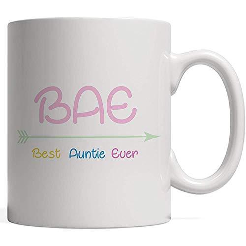 Tante Squad Mug für BAE-die beste Tante überhaupt in der Welt! Lustiges Geschenk als neue niedliche Geburts- oder Schwangerschafts-Mitteilung für Tante oder fantastische Schwester-Mutter im Team der c