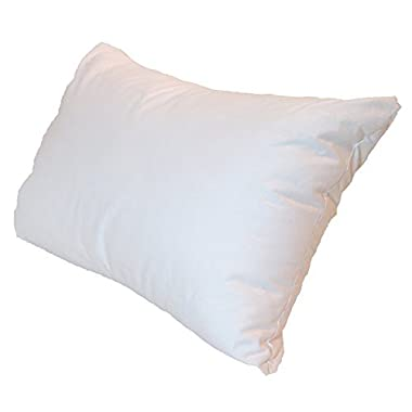 12x18 Inch Pillowflex Premium Polyester Filled Pillow Form Insert - Machine Washable - Oblong Rectangle - Made In USA