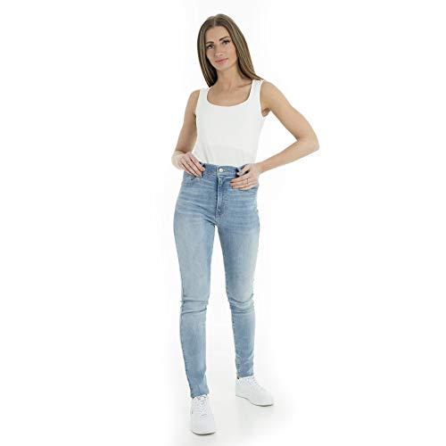 Levi's® Damen Jeans Mile High Super Skinny Stoned Blue (81) 28/30