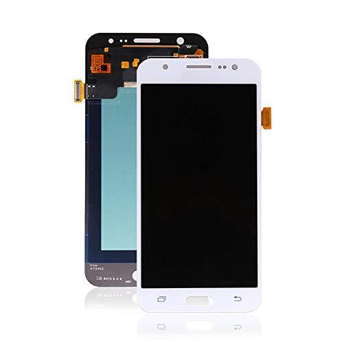 "un known Reemplazo Compatible 720X1280 for Samsung J500 LCD for Samsung Galaxy for J5 2015 J500 J500F J500M LCD con Pantalla táctil digitalizador Asamblea (Color : White, Size : 5.0"")"