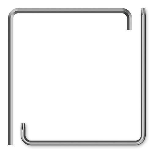 INBUS® 79993 Fenster Einstellwerkzeug Inbusschlüssel 4mm & TORX TX15 — Made in Germany