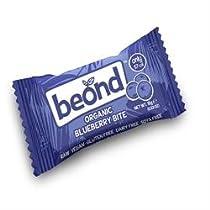 Beond Organic Blueberry bar 15 g (order 36 for retail outer) / Beondオーガニックブルーベリーバー15グラム(小売作者用のオーダ36 )