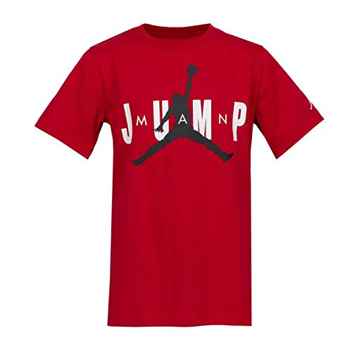 NIKE MJ Dfct SS Crew 2 tee Camiseta Niño, Niños, Camiseta, 956869, Rojo Gym Red, 8-10Y