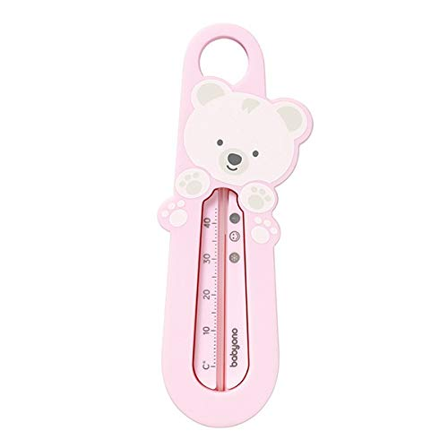 Baby Bad Thermometer - schwimmender Badethermometer (rosa)