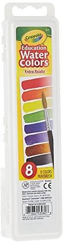 Crayola Educational Water Colors Oval Pans