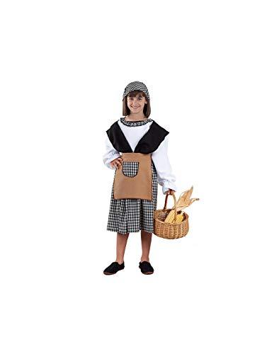 DISBACANAL Disfraz de castañera para niña - -, 6 años