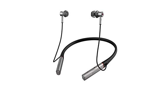 1MORE - E1004BA-SILVER - Auriculares Bluetooth 4.2- Dual Driver BT ANC In Ear Headphones Black