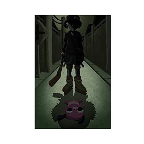 Poster sur toile de l'animé Paranoia Agent 7 - Décoration de chambre à coucher, de sport, de paysage, de bureau, de salle - Sans cadre : 30 x 45 cm