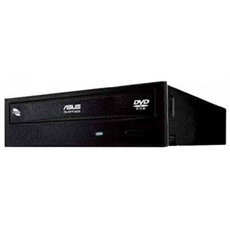 Asus Storage DVD-E818AAT/BLK/B/GE DVD-ROM E818AAT 18X SATA Black Bulk Retail
