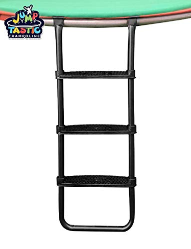 JumpTastic Trampoline Ladder/Universal Trampoline Accessories/for Kids with 3 Wide Skid-Proof Steps/Next Day Shipping