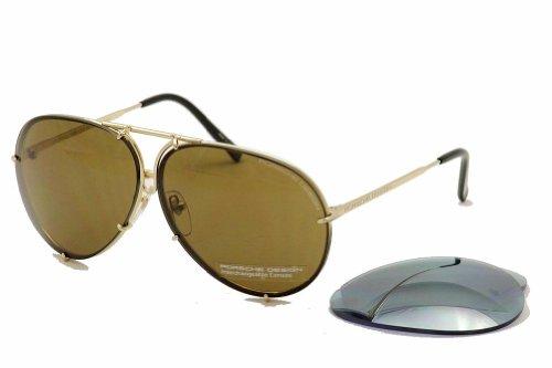 Porsche Design Unisex-Erwachsene Sonnenbrillen P8478, A, 66