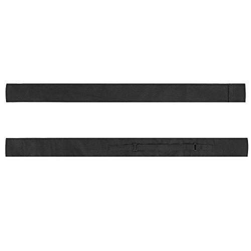 Alomejor Stecca da Biliardo Portatile Borsa da Trasporto Biliardo Leggera Snooker Borsa per 1/2 3/4 Stecca da Biliardo Asta(3/4)