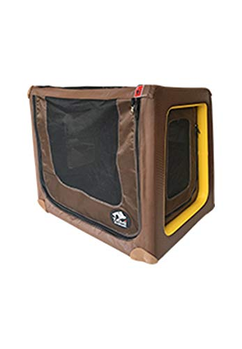 TAMI - Aufblasbares Hundebox Backseat S - Dog Box Hundetransportbox Hund Autotransportbox Transportbox Falbare Hundekäfig