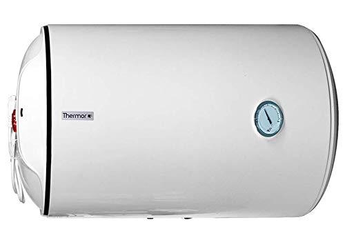 Thermor Groupe Atlantic Termo Electrico 50 litros Serie Concept | Calentador de Agua Horizontal, Instantaneo - Aislamiento de alta densidad