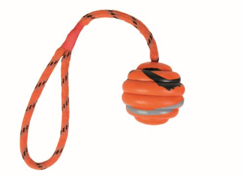 TX-33724 Wavy Ball on a Rope, Natural Rubber 6/30 cm