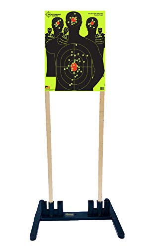 Splatterburst Targets - Multi - Width Polymer Target Stand - Excellent for All 6-24 Inch Wide Targets - Made in USA