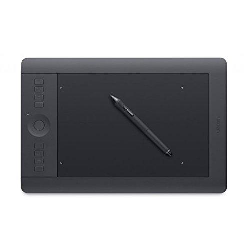 Wacom PTH-651-DEIT Intuos Pro Grafik-Tablett inkl. Wireless Kit (Größe M, für DE/IT) schwarz