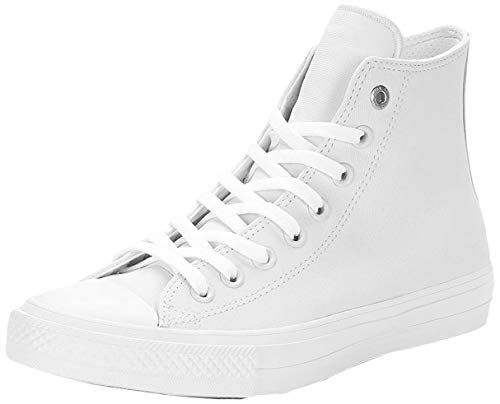 adidas Damen Chuck Taylor All Star II Two-Tone High Basketballschuhe, Weiß (Weiß Weiß), 37.5 EU