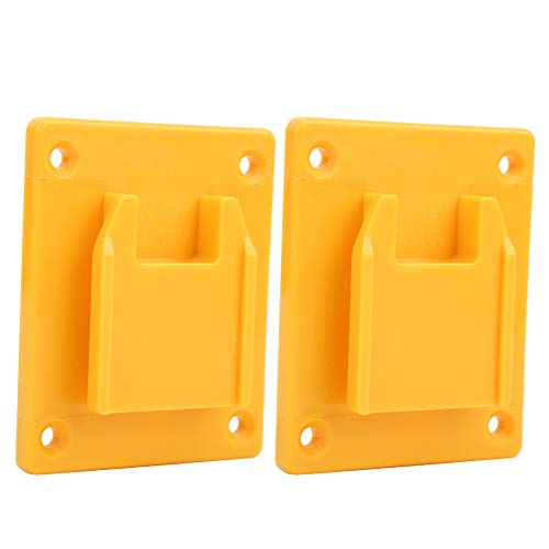 ROSEBEAR 2pcs Suitable for Milwaukee M18 18v 20V Power Tool Machine Wall Shelf Fixing Devices