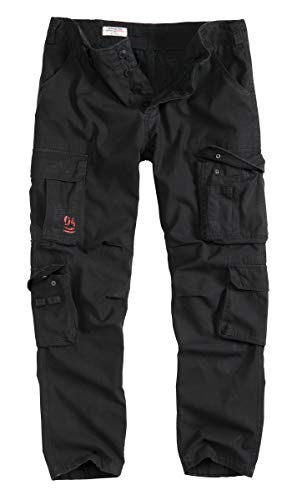 Surplus Airborne Vintage Slimmy Trousers, schwarz, L