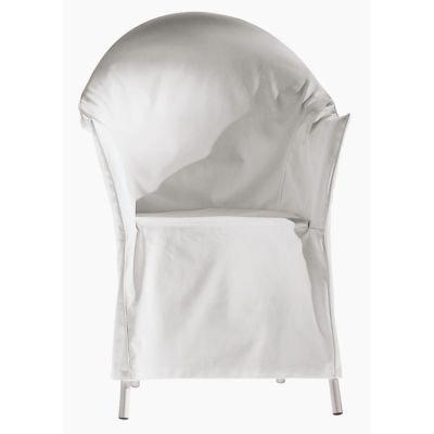 Driade Husse für Lord Yo Stapelsessel mit herausnehmbarem Sitzkissen - weiß