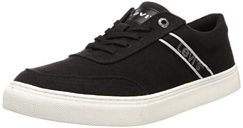 Levi's Men Bolton Black Sneakers-8 UK (42 EU) (9 US) (38099-1788)